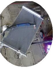 Ремонт радиаторов аргоном