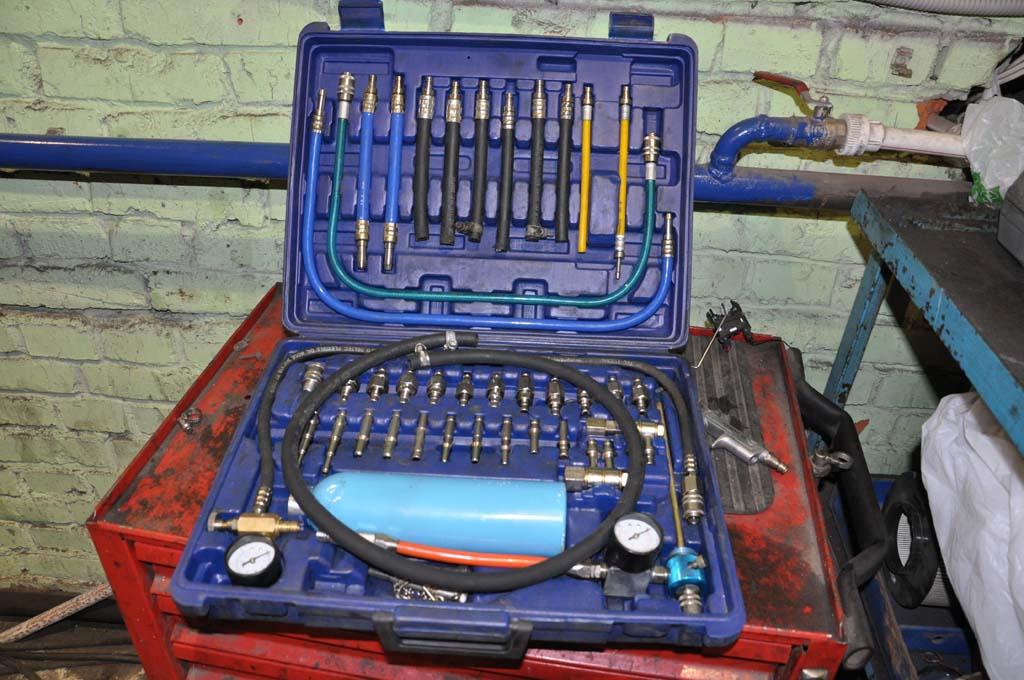 Оборудование для прочистки инжекторов