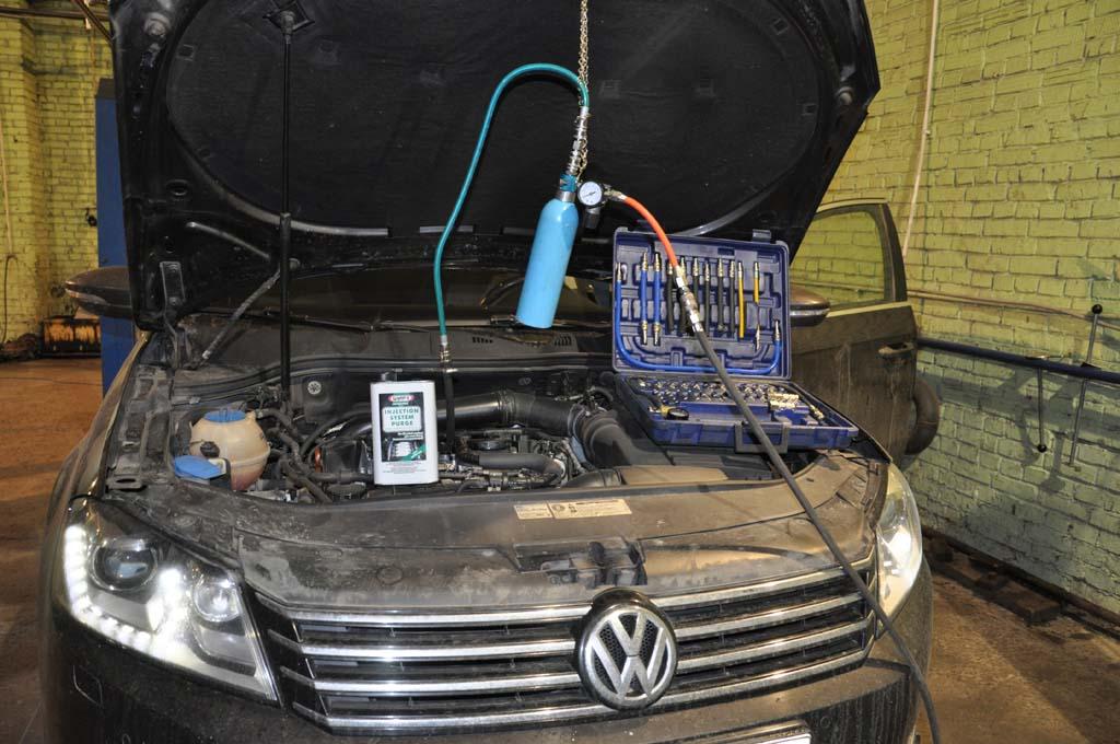 Чистка инжекторного двигателя
