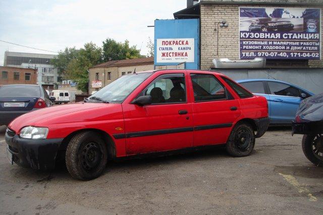 Кузовной ремонт Форд Эскорт завершен