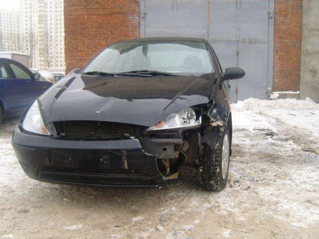 Состояние автомобиля Форд Фокус до ремонта
