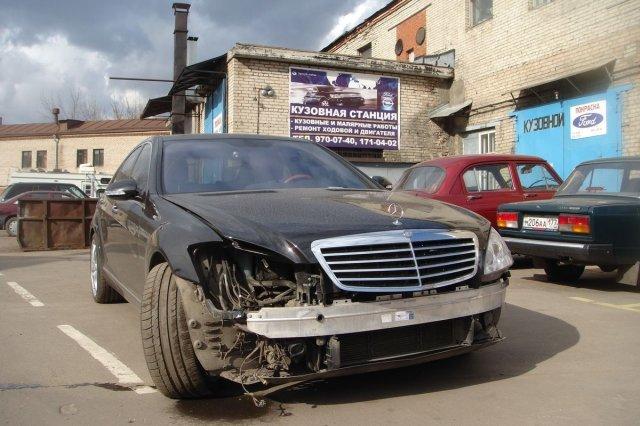 Ремонт Mercedes Benz 500 (black) - 2004 г.в