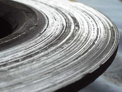 убитый тормозной диск